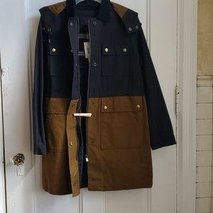 JCrew Colorblock Coat